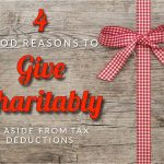 Britz's Four Good Reasons To Give Charitably, Aside From Tax Deductions