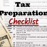 Britz Financial Group's 2017 Tax Preparation Checklist